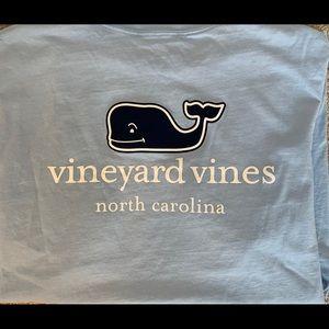 Vineyard Vines Blue Pocket T-shirt, M